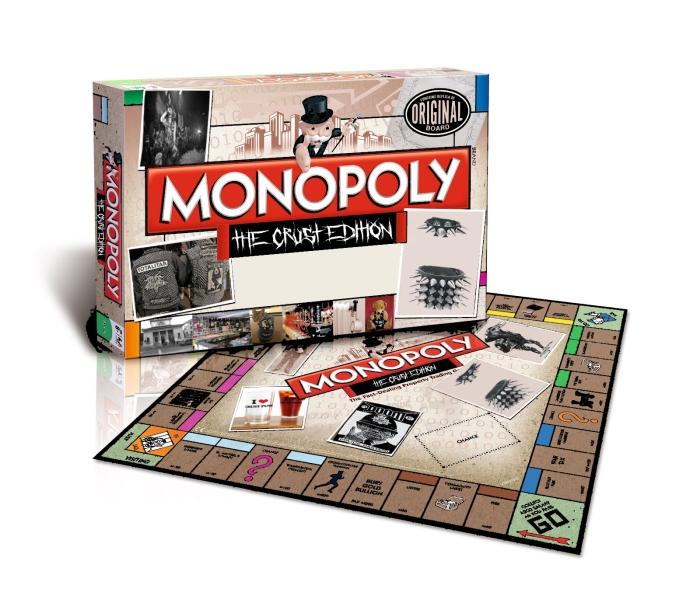 Agipunk entra nel mercato dei giochi da tavolo in arrivo monopoly crust edition hardcorella - Monopoli gioco da tavolo ...